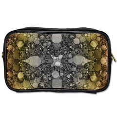 Abstract Earthtone  Travel Toiletry Bag (two Sides) by OCDesignss