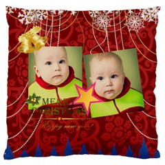Xmas By Xmas   Large Flano Cushion Case (two Sides)   Begv6ci5tzrh   Www Artscow Com Front