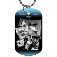 By Sierra Nitz   Dog Tag (two Sides)   Jkwaprpy7a30   Www Artscow Com Front
