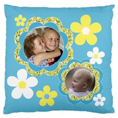 Family Standard Flano Case (2 Sided) By Deborah   Standard Flano Cushion Case (two Sides)   V3co3l7t3yb5   Www Artscow Com Front