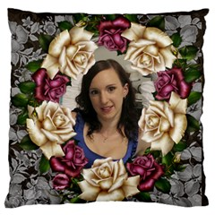 Roses And Lace Standard Flano Case (2 Sided) By Deborah   Standard Flano Cushion Case (two Sides)   J33dw6don9ii   Www Artscow Com Back