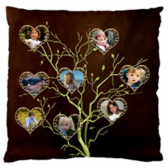 Family Tree Standard Flano Case (2 Sided) By Deborah   Standard Flano Cushion Case (two Sides)   Yfsmhm26u952   Www Artscow Com Back