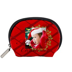 Xmas By Xmas   Accessory Pouch (small)   E72n0qv1djnr   Www Artscow Com Front