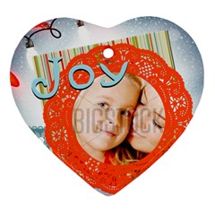 Xmas By Xmas4   Heart Ornament (two Sides)   Uhxo9y0hk0n6   Www Artscow Com Back