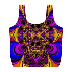 Crazy Abstract  Reusable Bag (l) by OCDesignss