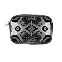 Crazy Black&white Fractal Coin Purse by OCDesignss