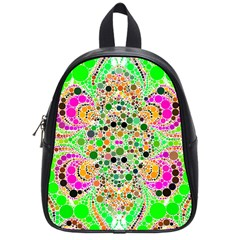 Florescent Abstract  School Bag (small) by OCDesignss