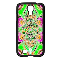 Florescent Abstract  Samsung Galaxy S4 I9500/ I9505 Case (black) by OCDesignss