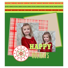 Xmas By Xmas   Drawstring Pouch (large)   Axg7yaivherg   Www Artscow Com Front