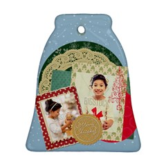 Xmas By Xmas4   Bell Ornament (two Sides)   J929p2jgh54p   Www Artscow Com Back