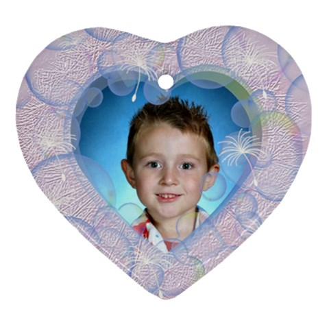 Bubble Ornament Heart By Chere s Creations   Ornament (heart)   0dsz0rccntei   Www Artscow Com Front