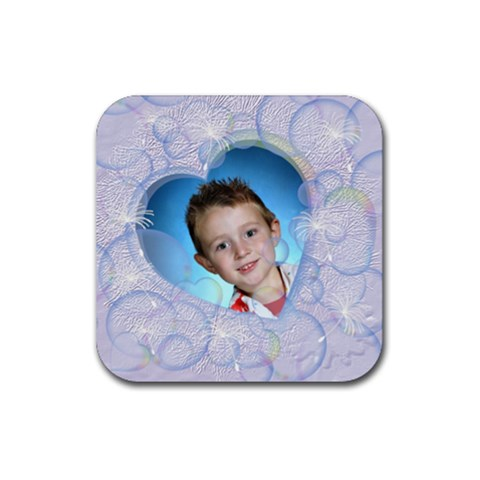 Bubble Rubber Coaster Square By Chere s Creations   Rubber Coaster (square)   N8sls7lrgxhw   Www Artscow Com Front