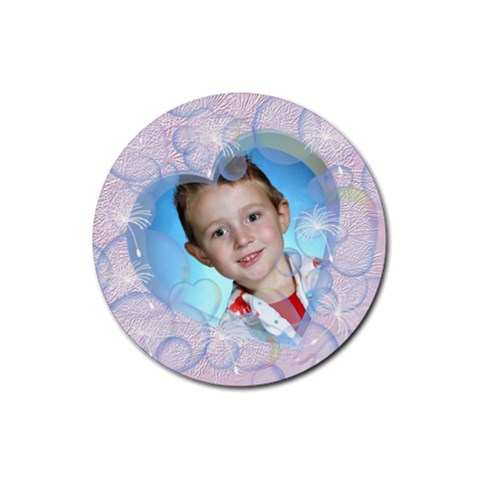 Bubble Rubber Round Coaster 4 Pack By Chere s Creations   Rubber Round Coaster (4 Pack)   372bilupozvv   Www Artscow Com Front