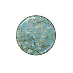 Vincent Van Gogh, Almond Blossom Golf Ball Marker (for Hat Clip) by Oldmasters