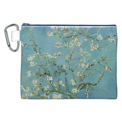 Vincent Van Gogh, Almond Blossom Canvas Cosmetic Bag (xxl) by Oldmasters