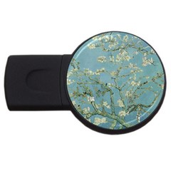 Vincent Van Gogh, Almond Blossom 4gb Usb Flash Drive (round) by Oldmasters