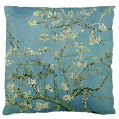 Vincent Van Gogh, Almond Blossom Large Flano Cushion Case (one Side) by Oldmasters