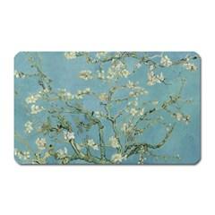 Vincent Van Gogh, Almond Blossom Magnet (rectangular) by Oldmasters
