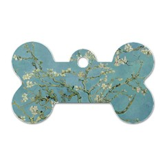 Vincent Van Gogh, Almond Blossom Dog Tag Bone (two Sided) by Oldmasters