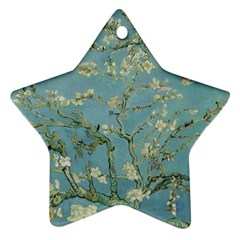 Vincent Van Gogh, Almond Blossom Star Ornament (two Sides) by Oldmasters