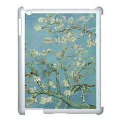 Vincent Van Gogh, Almond Blossom Apple Ipad 3/4 Case (white) by Oldmasters