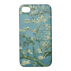 Vincent Van Gogh, Almond Blossom Apple Iphone 4/4s Hardshell Case With Stand by Oldmasters