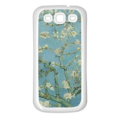 Vincent Van Gogh, Almond Blossom Samsung Galaxy S3 Back Case (white) by Oldmasters