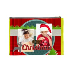 Xmas By Xmas4   Cosmetic Bag (large)   8k1q0qnkczle   Www Artscow Com Back