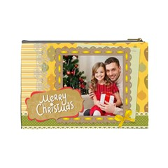 Xmas By Xmas4   Cosmetic Bag (large)   Hif5graoj9f3   Www Artscow Com Back
