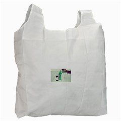 Dirty $prite White Reusable Bag (one Side)