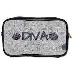 Sassy Diva  Travel Toiletry Bag (two Sides) by OCDesignss