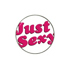 Just Sexy Typographic Quote002 Golf Ball Marker 4 Pack (for Hat Clip) by dflcprints
