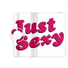 Just Sexy Typographic Quote002 Kindle Fire Hdx 8 9  Flip 360 Case by dflcprints