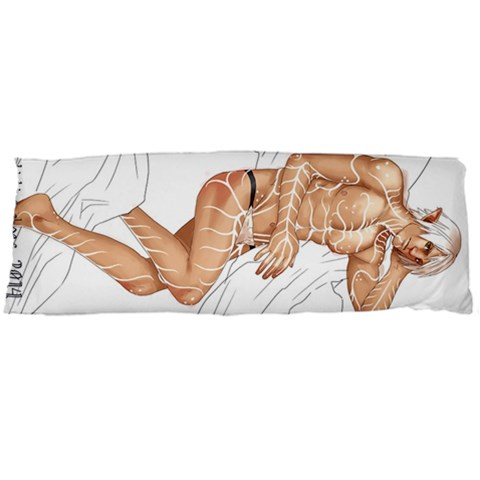 Fenris Buttcheeks By Leon Kuwata   Body Pillow Case (dakimakura)   Ae477frujqyk   Www Artscow Com Body Pillow Case