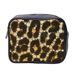 Cheetah Abstract  Mini Travel Toiletry Bag (two Sides) by OCDesignss