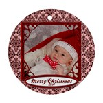 ethan ornament - Ornament (Round)