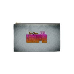 Vape For Your Life Abstract  Cosmetic Bag (small) by OCDesignss