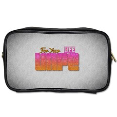 Vape For Your Life Abstract  Travel Toiletry Bag (one Side) by OCDesignss