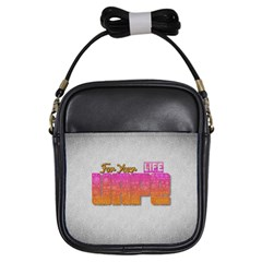 Vape For Your Life Abstract  Girl s Sling Bag by OCDesignss