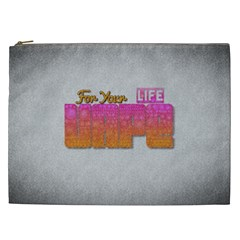 Vape For Your Life Abstract  Cosmetic Bag (xxl) by OCDesignss