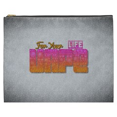 Vape For Your Life Abstract  Cosmetic Bag (xxxl) by OCDesignss