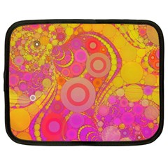 Super Bright Abstract Netbook Sleeve (large) by OCDesignss