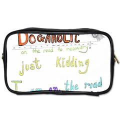 D0gaholic Travel Toiletry Bag (one Side)