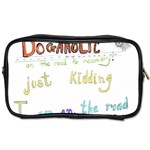 D0gaholic Travel Toiletry Bag (One Side) Front