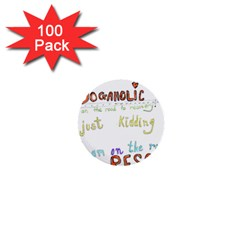 D0gaholic 1  Mini Button (100 Pack) by Contest1918526