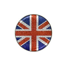 England Flag Grunge Style Print Golf Ball Marker 10 Pack (for Hat Clip) by dflcprints