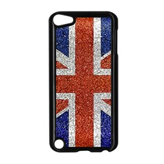 England Flag Grunge Style Print Apple Ipod Touch 5 Case (black) by dflcprints