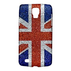 England Flag Grunge Style Print Samsung Galaxy S4 Active (i9295) Hardshell Case by dflcprints