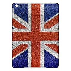 England Flag Grunge Style Print Apple Ipad Air Hardshell Case by dflcprints
