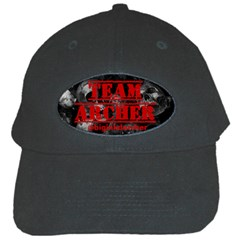 R.Archer Black Baseball Cap